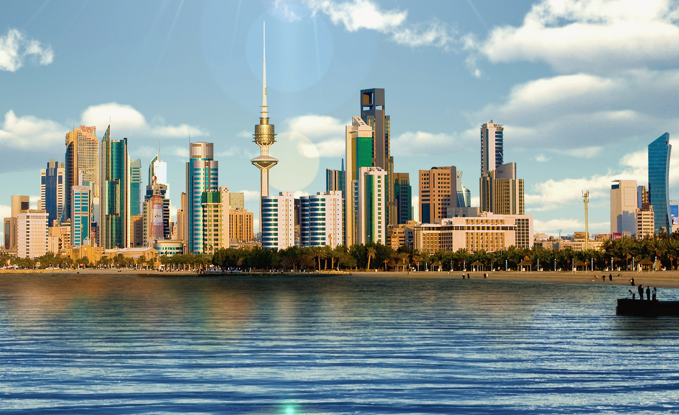 image of kuwait city